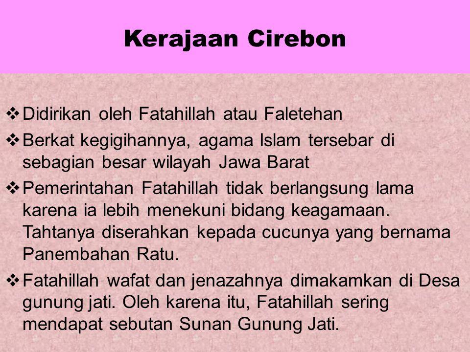 Kerajaan Mataram Islam Sultan Agung mangkat pada tahun 1645 dan dimakamkan di Imogiri. Setelah Sultan Agung wafat, Kerajaan Mataram Islam mengalami ke