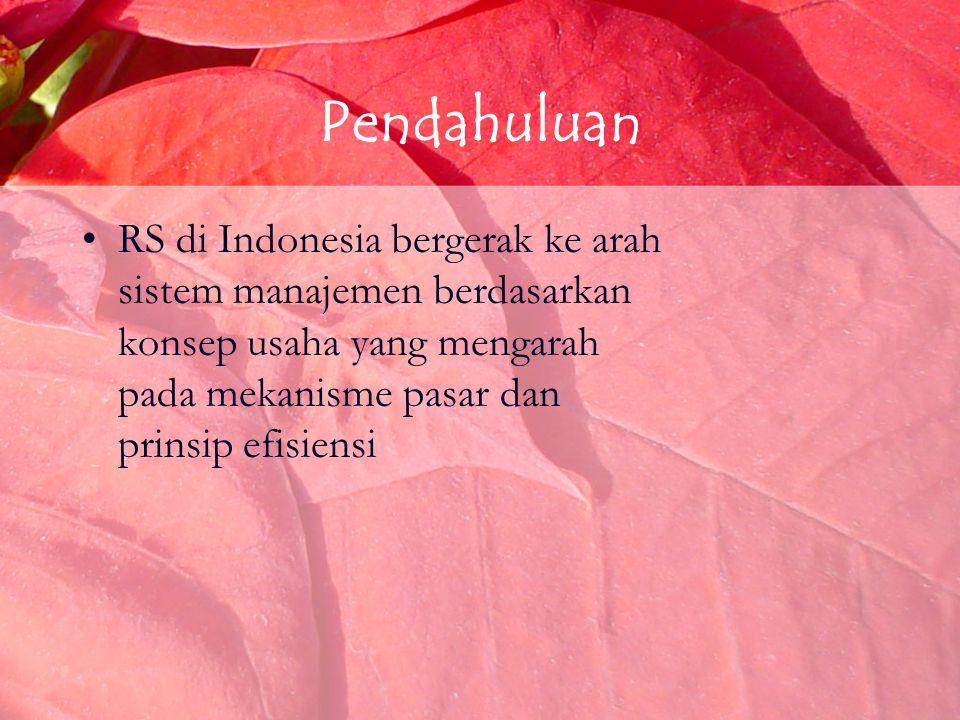 Konsep Etika Bisnis RS Etika tentang organisasi RS diatur oleh Etika Rumah Sakit Indonesia (ERSI) yang dirumuskan & dibina oleh PERSI Etika organisasi RS merupakan etika bisnis dengan sifat – sifat khusus
