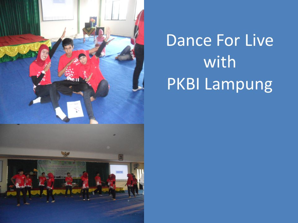 Dance For Live with PKBI Lampung