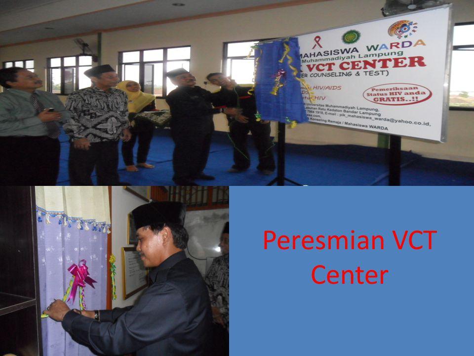 Peresmian VCT Center