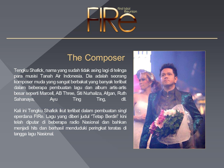 The Composer Tengku Shafick, nama yang sudah tidak asing lagi di telinga para musisi Tanah Air Indonesia.