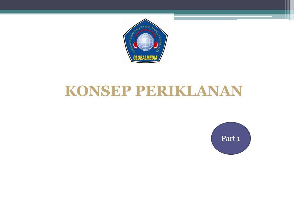 KONSEP PERIKLANAN Part 1