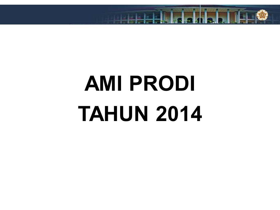 Harapan Rektor a.Prodi mempersiapkan akreditasi BAN-PT dengan baik b.