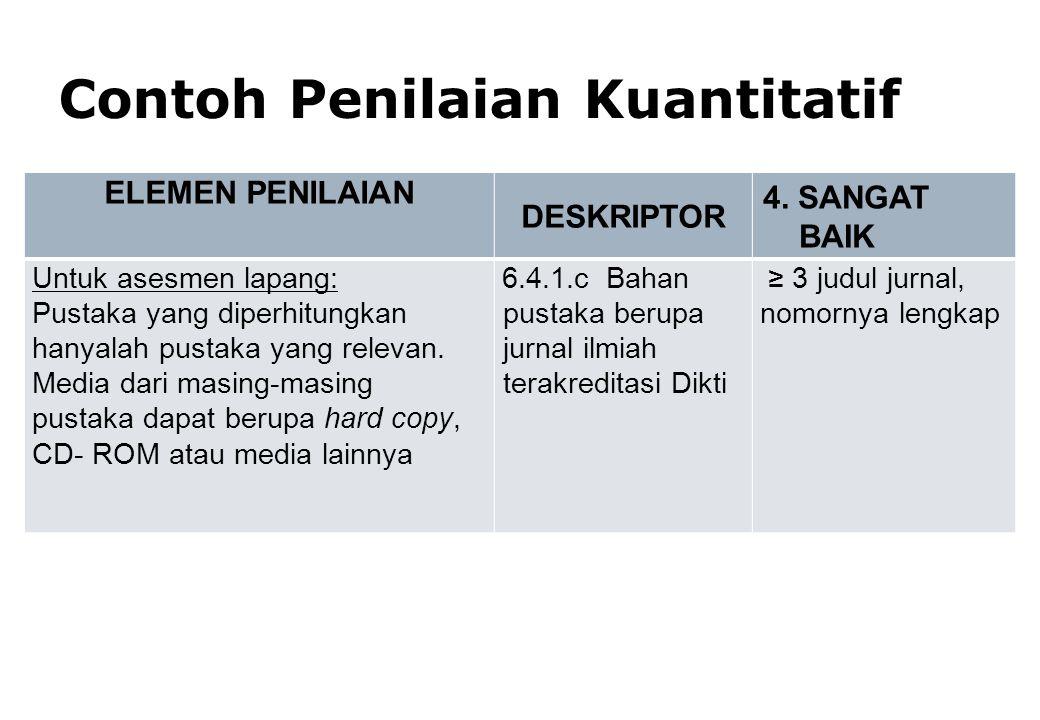 Borang Fakultas (3B): 15% Borang Prodi (3A) : 75% Evaluasi Diri Prodi : 10% BOBOT NILAI