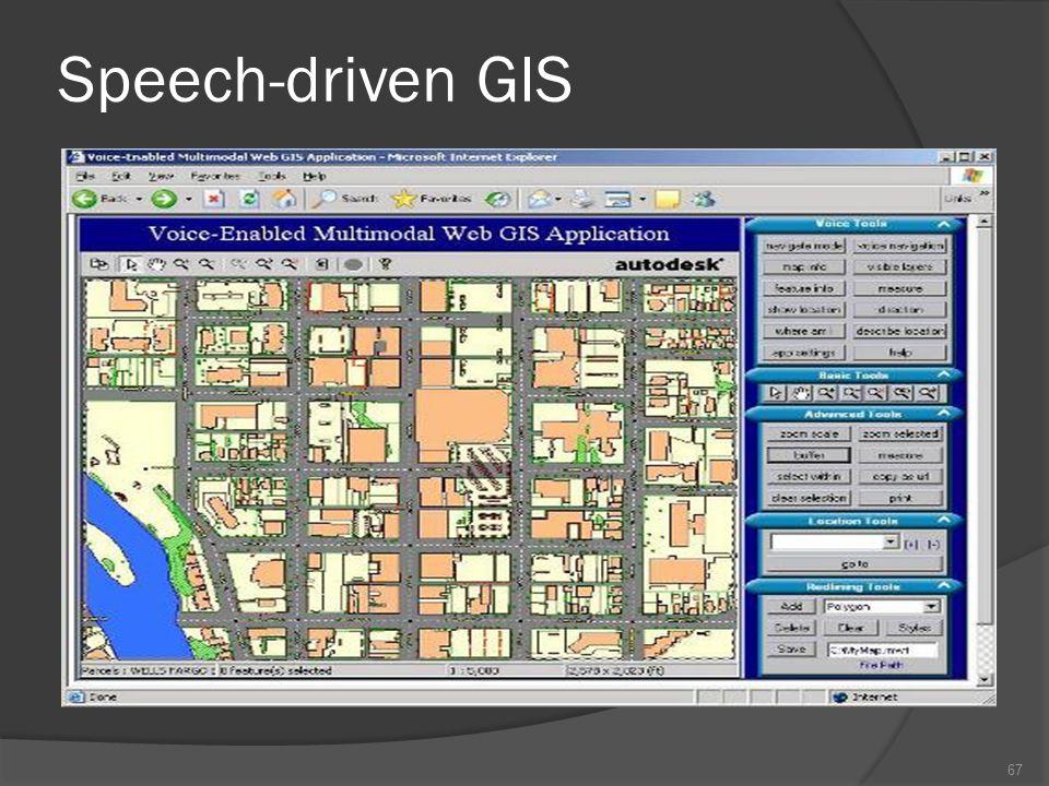 Speech-driven 66