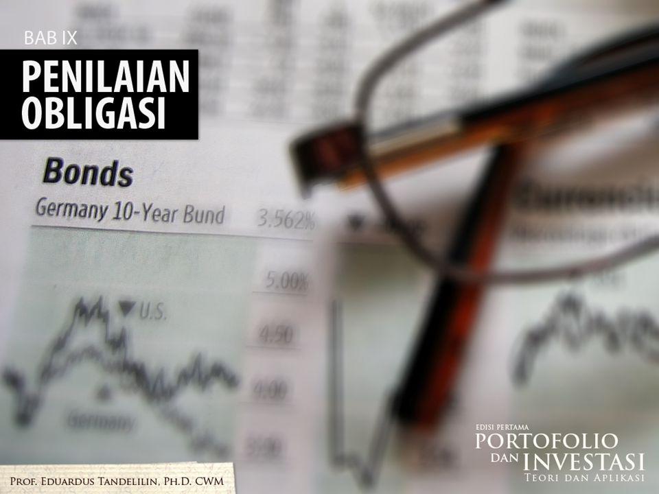 CAKUPAN PEMBAHASAN  Penilaian obligasi  Harga obligasi  Tingkat bunga pasar dan harga obligasi  Maturitas dan harga obligasi  Tingkat kupon dan harga obligasi  Durasi obligasi 1/33