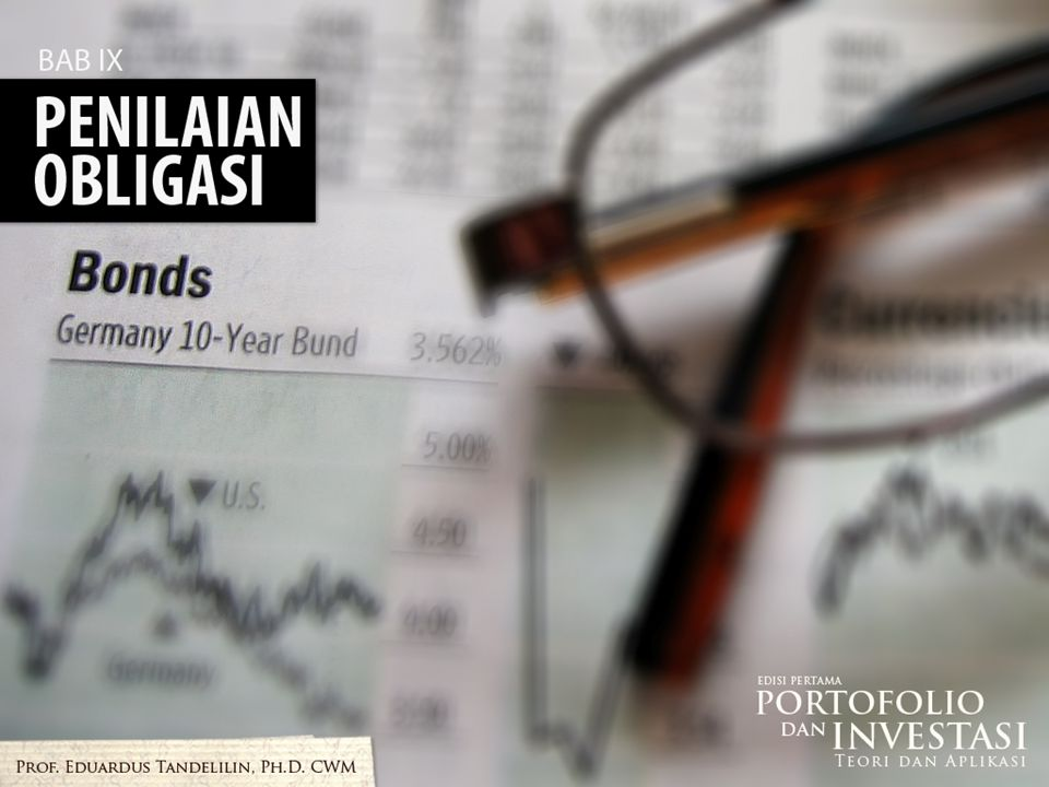 b.Jika tingkat bunga yang disyaratkan lebih tinggi daripada tingkat kupon, harga obligasi akan lebih rendah dari nilai parnya, atau obligasi dijual dengan diskon.