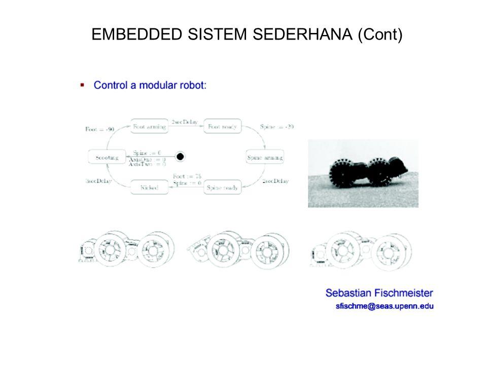EMBEDDED SISTEM SEDERHANA (Cont)