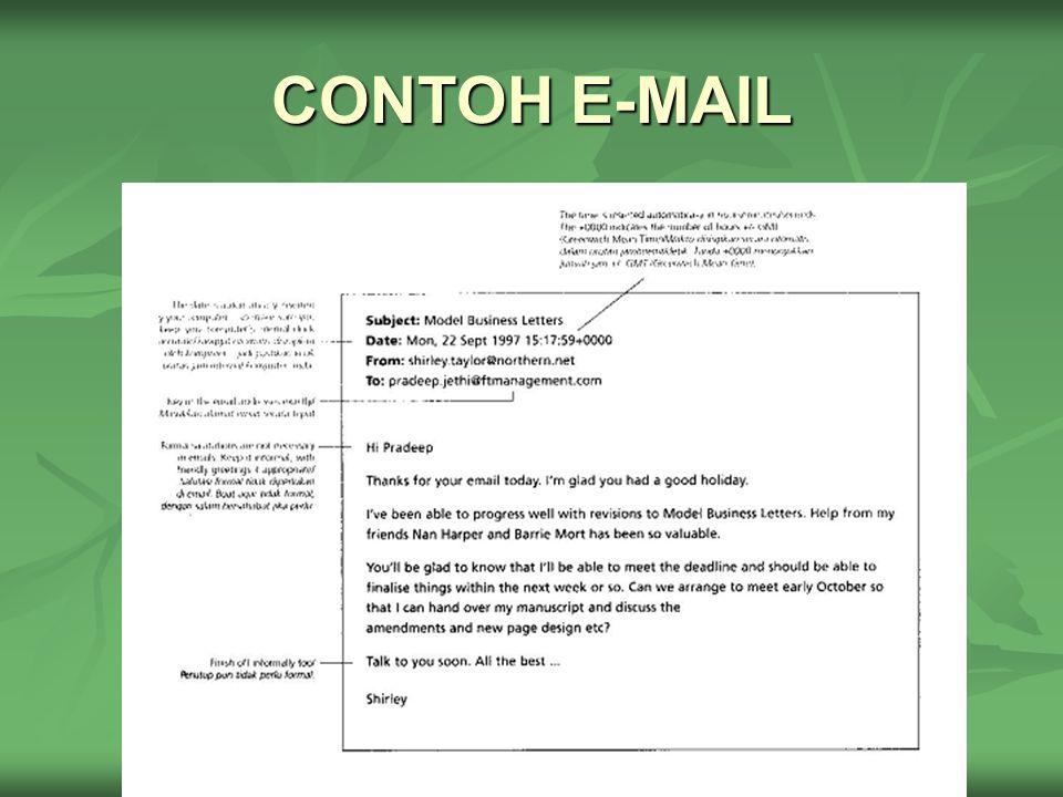 CONTOH E-MAIL