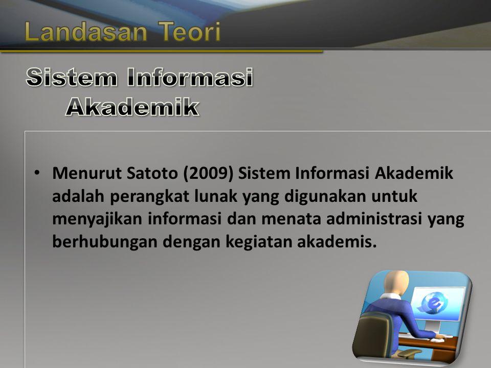 Copyright © Wondershare Software Menurut Satoto (2009) Sistem Informasi Akademik adalah perangkat lunak yang digunakan untuk menyajikan informasi dan menata administrasi yang berhubungan dengan kegiatan akademis.