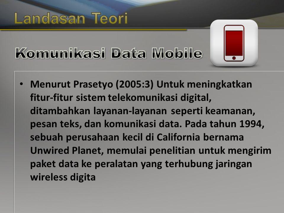 Copyright © Wondershare Software Menurut Prasetyo (2005:3) Untuk meningkatkan fitur-fitur sistem telekomunikasi digital, ditambahkan layanan-layanan seperti keamanan, pesan teks, dan komunikasi data.