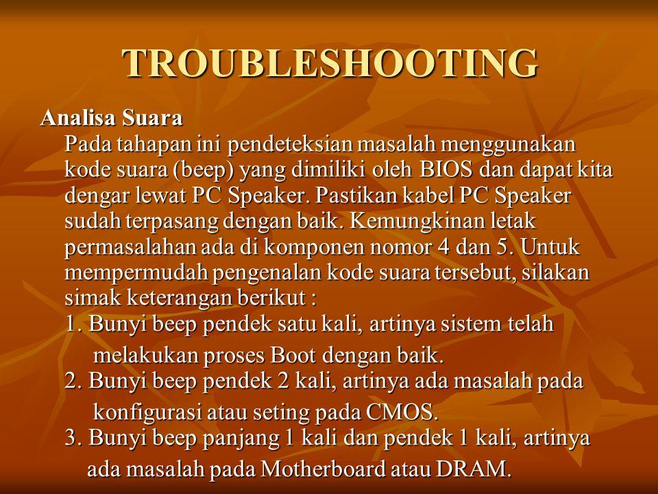 TROUBLESHOOTING 4.