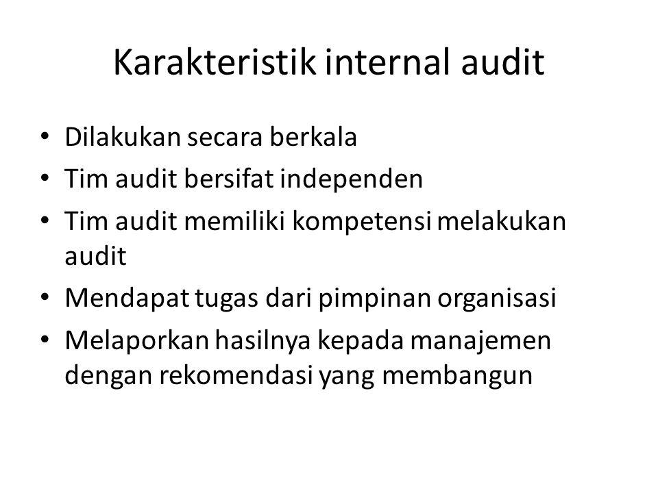 Tahapan Audit K3 1.Persiapan : menetapkan ruang lingkup, lokasi, jadwal, pemberitahuan kepada yg akan diaudit 2.Menyiapkan perlengkapan yg perlu 3.Presentasi pembukaan ; perkenalan, maksud dan tujuan, dasar dan pedoman audit 4.Koordinasi tim audit; internal tim audit membuat check list, wawancara.