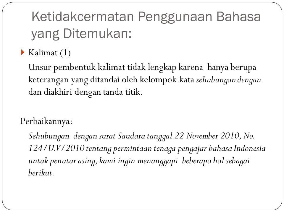 (3) Bersama ini kami beri tahukan bahwa rapat pemegang saham PT Wijaya Kusuma dibatalkan karena pembukuan keuangan belum semua dilaporkan.