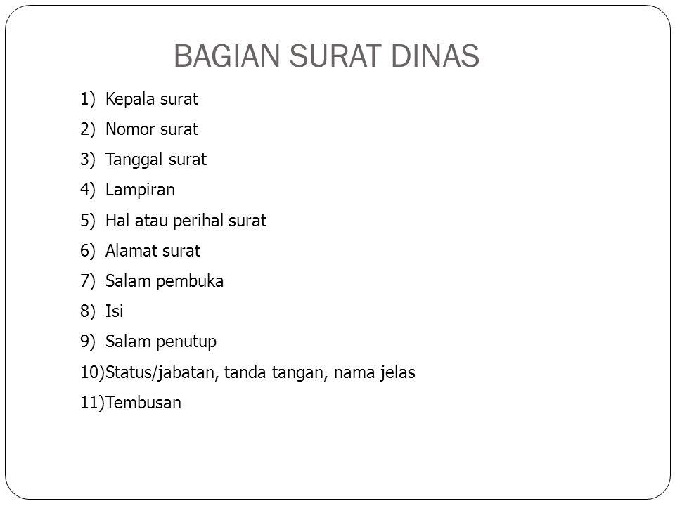 e. Bentuk Resmi Indonesia Baru