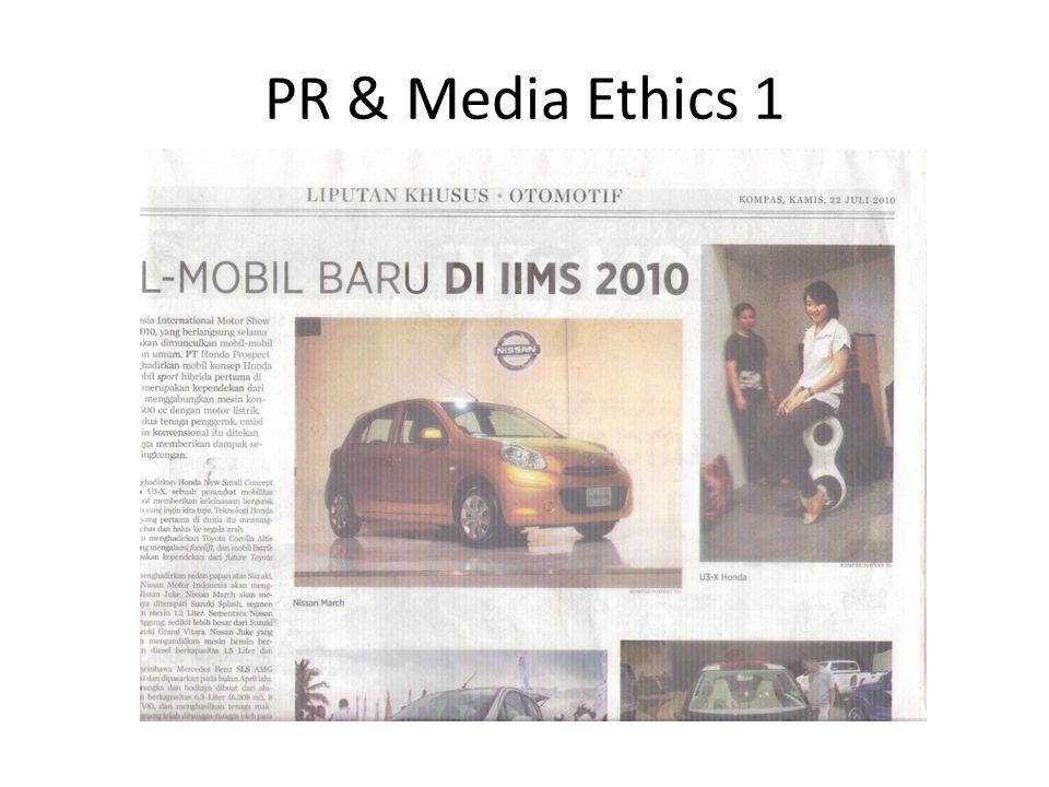 PR & Media Ethics 1