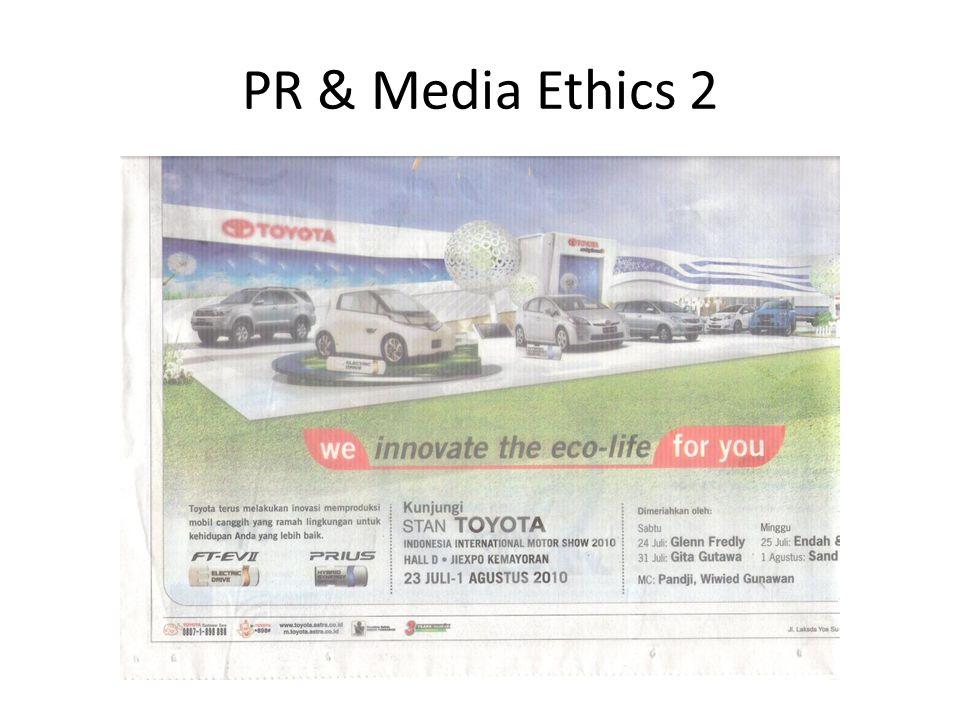 PR & Media Ethics 2