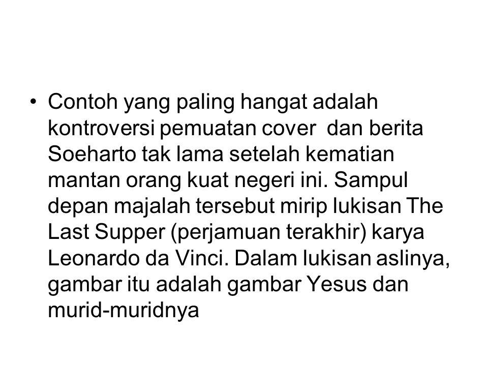 Cover Soeharto di Tempo