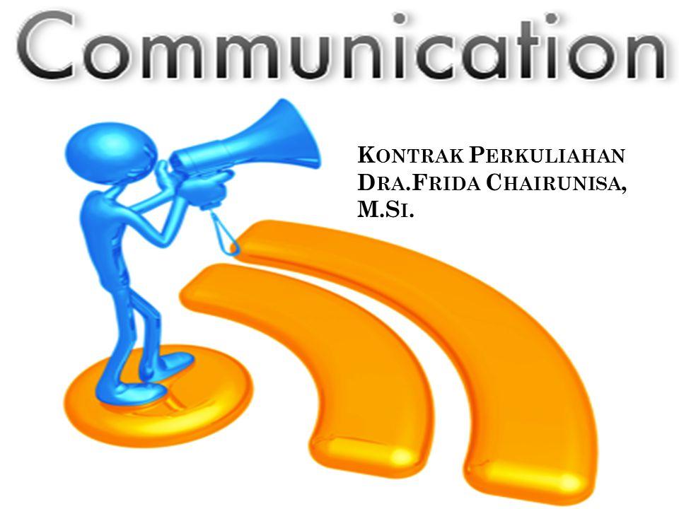 Kontrak Perkuliahan merupakan kesepakatan yang mengikat antara Dosen dan Mahasiswa mengenai proses perkuliahan dan penilaian mata kuliah Teknik Komunikasi Strata Satu.