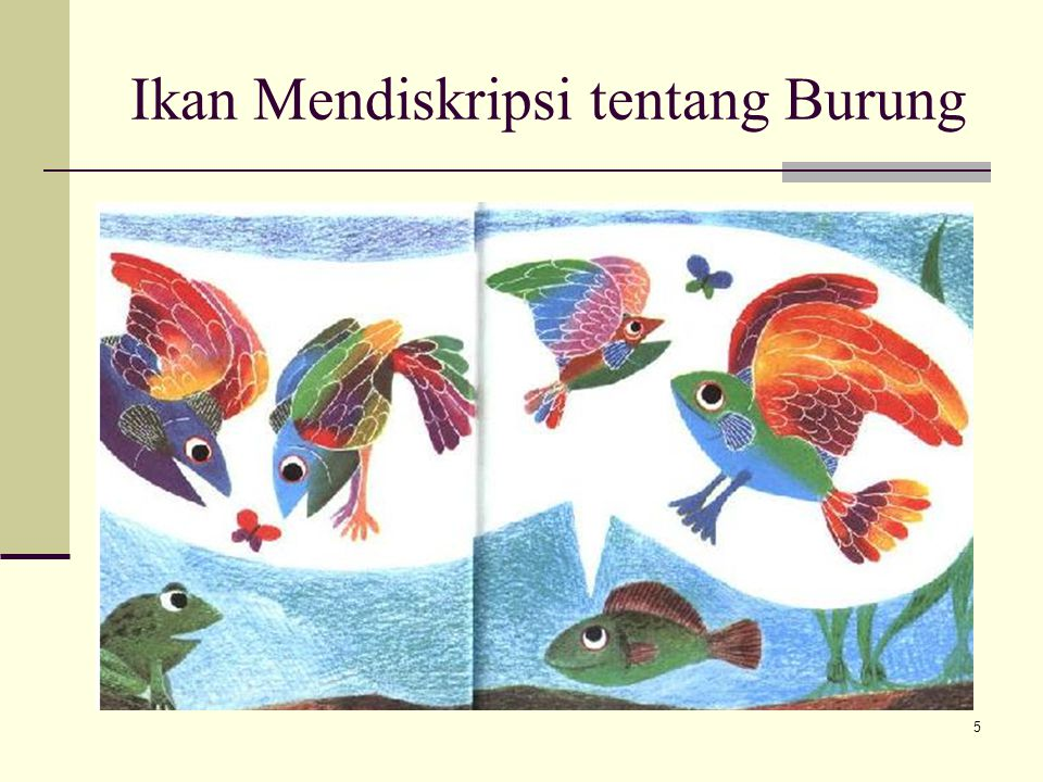 Ikan Mendiskripsi tentang Burung 5