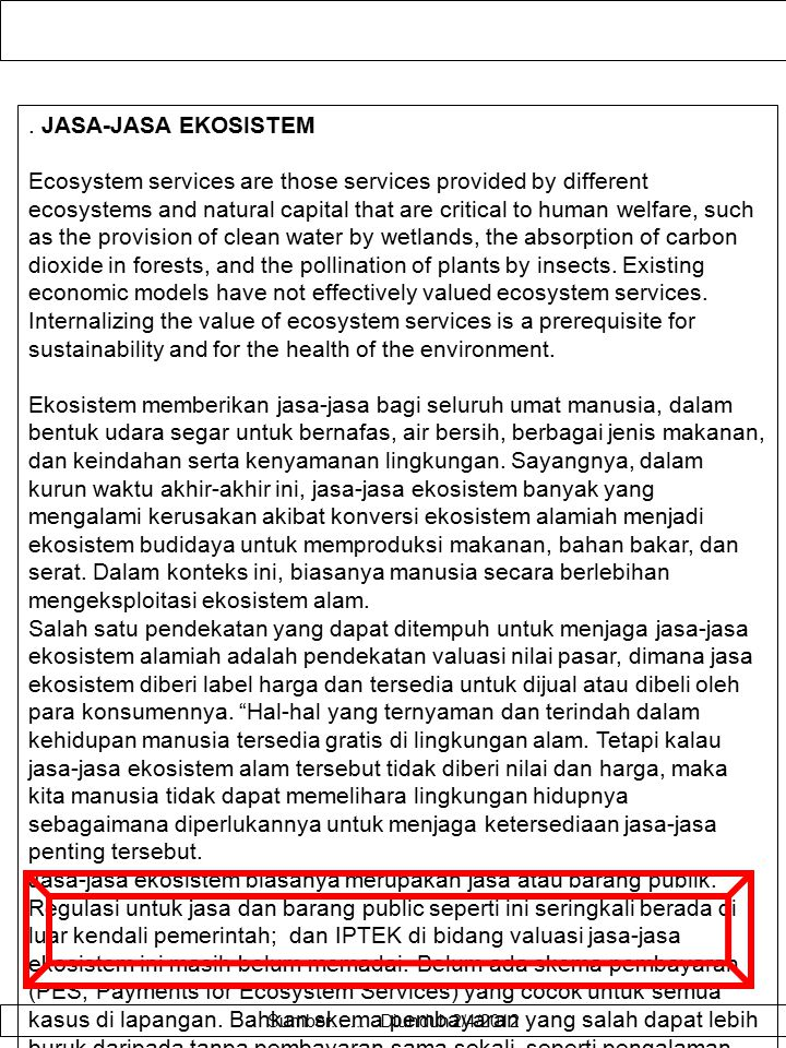 KENYAMANAN LINGKUNGAN WISATA Contingent valuation method (CVM) is an evaluation technique for environmental amenity on the basis of attitude and preference.