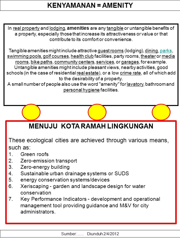 PEMODELAN KENYAMANAN LINGKUNGAN Environmental amenity-driven migration presents a double-edged sword to policy makers concerned with both economic and ecological sustainability.