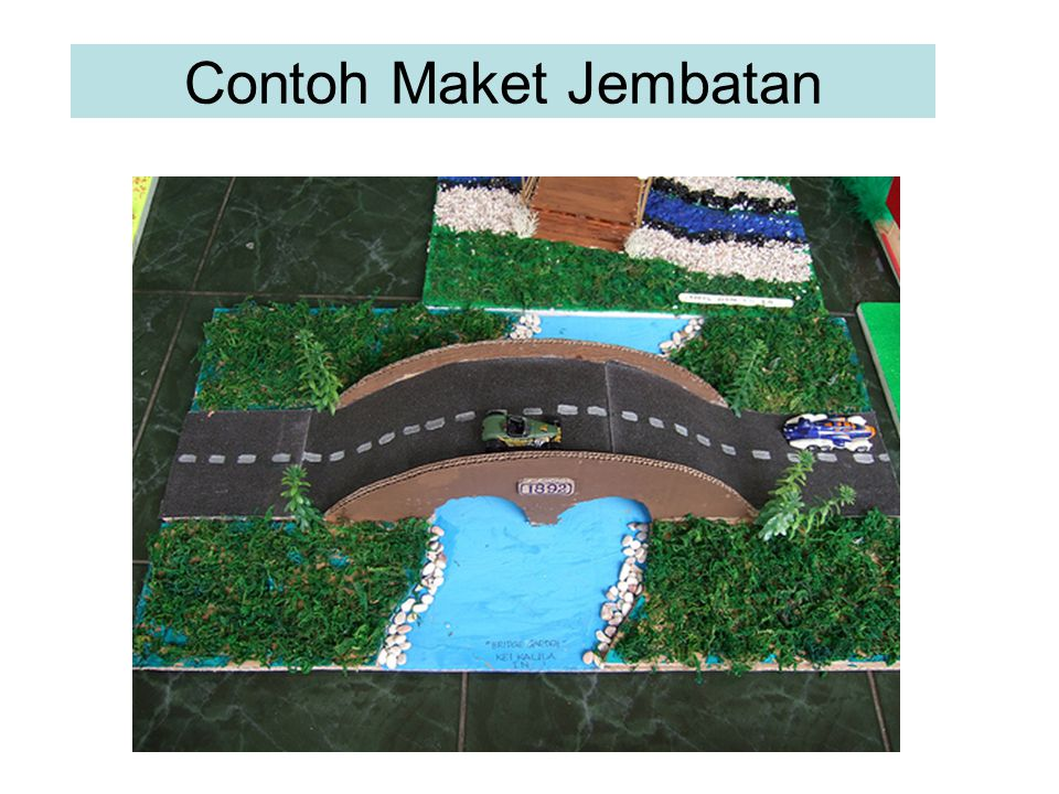Contoh Maket Model Bangunan Masjid