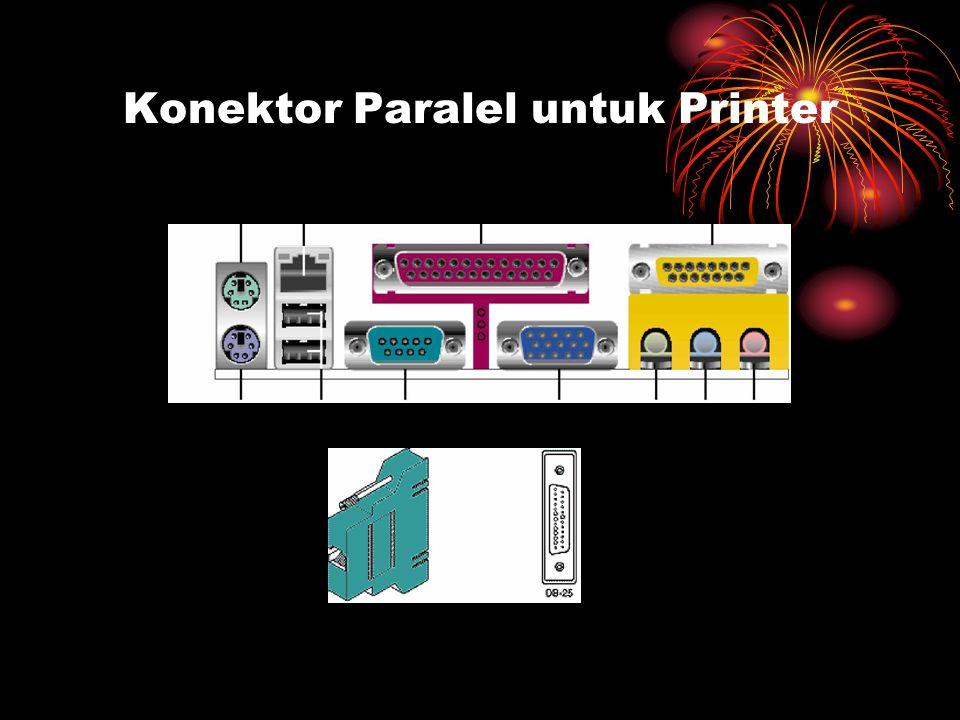Konektor Paralel untuk Printer