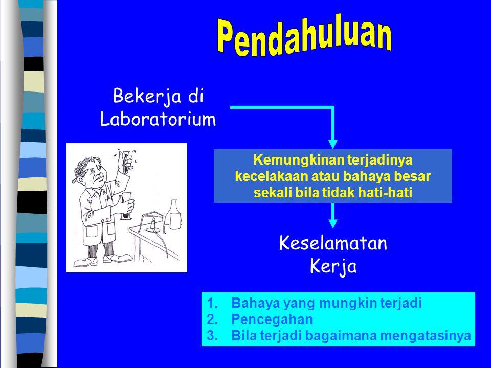 Misal :Benzena (TLV 25 ppm) Besi karbonil (TLV 0,001 ppm) Klorin TLV 1 ppm) Asam sianida (TLV 10 ppm) Hg (TLV 0,1 mg/m 3 ) NO 2 (TLV 5 ppm) TLV = nilai ambang batas