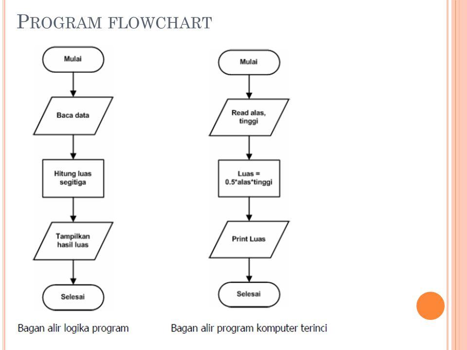 P ROGRAM FLOWCHART