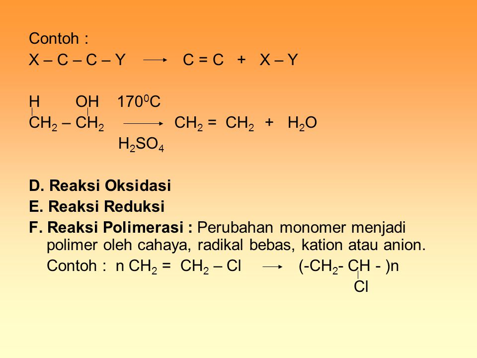 Contoh : CrO 3, H 2 SO 4 1- dekanol As.Dekanoat panas b.
