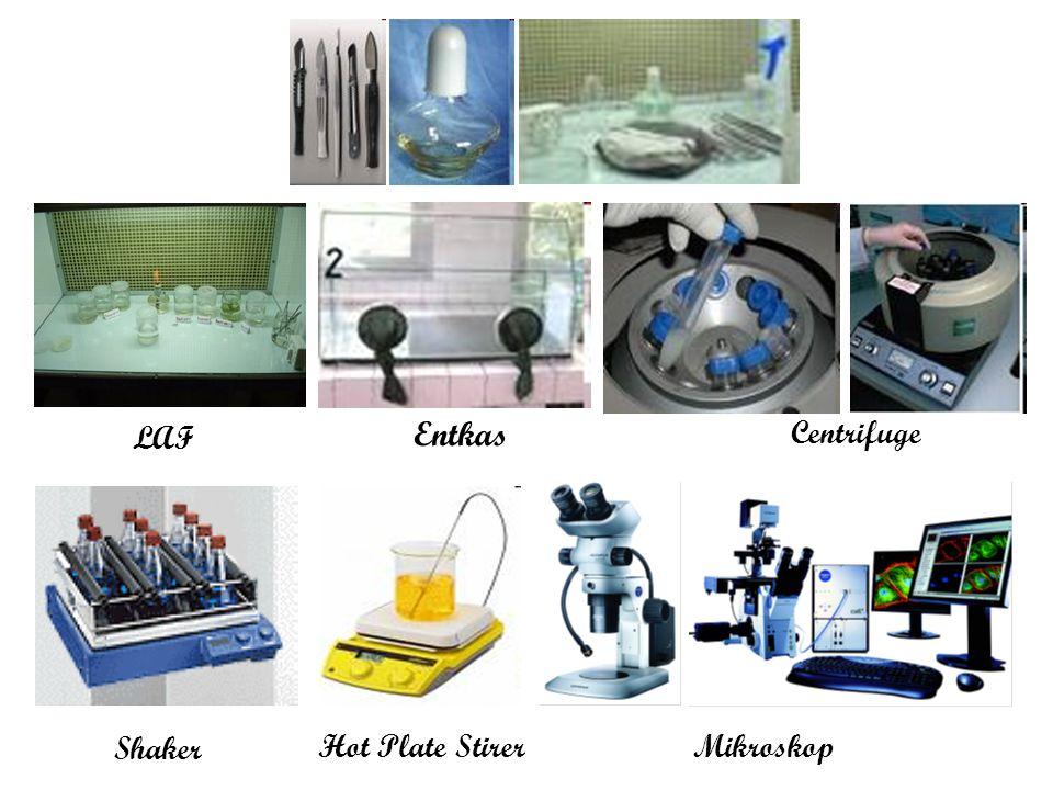 Entkas LAF Centrifuge Shaker Hot Plate Stirer Mikroskop