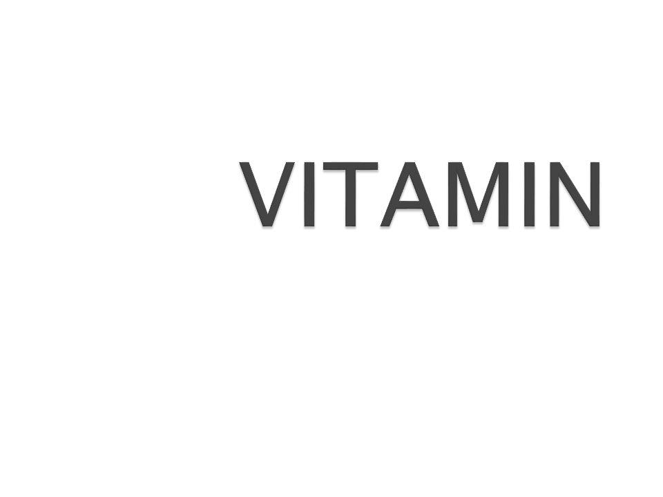 Substansi organik yang dibutuhkan ternak dalam jumlah sedikit untuk mengatur berbagai proses dalam tubuh untuk kesehatan, pertumbuhan, produksi dan reproduksi yang normal