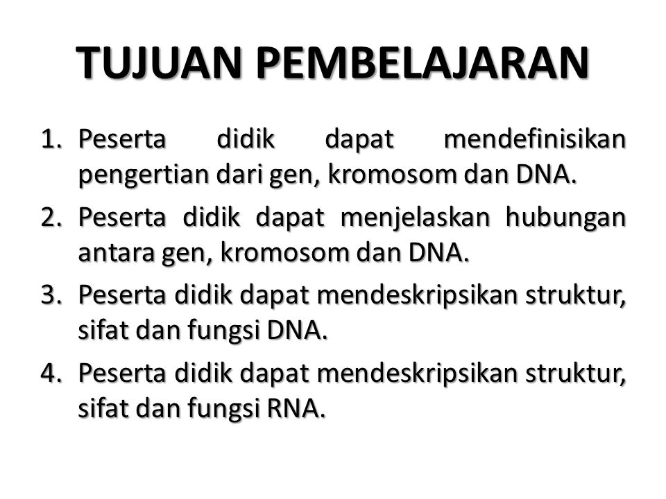 DEFINISI Hereditas didefinisikan sebagai kemampuan makhluk hidup untuk mewariskan sifat-sifat (karakter) atau ciri-ciri tubuhnya kepada keturunannya.