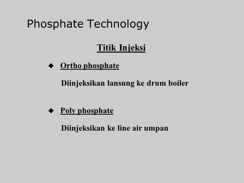 Phosphate Technology Ortho phosphates u Mono-, di-, tri- sodium phosphates Poly Phosphates u Sodium hexa meta phosphate u Sodium hepta meta phosphate