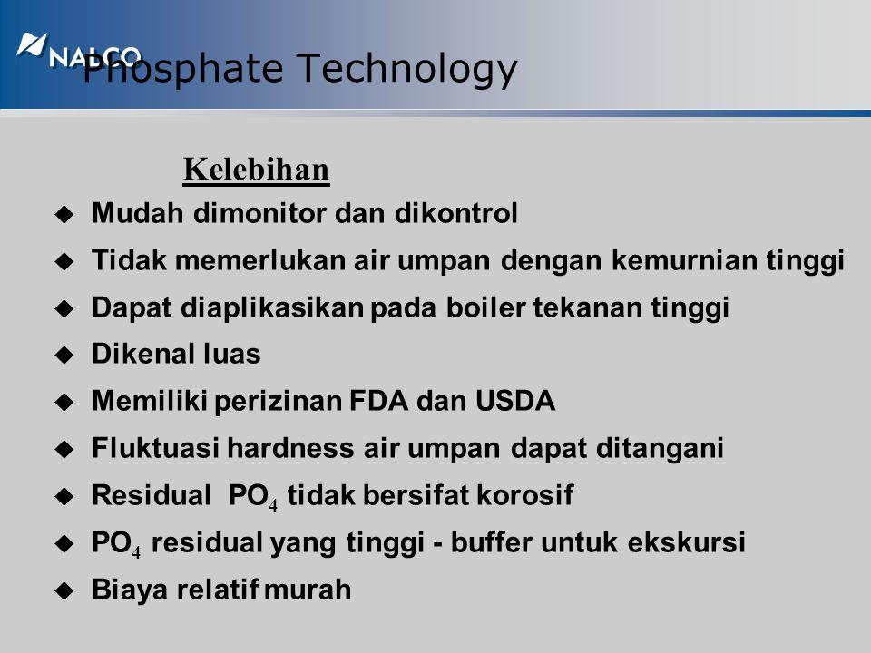 Phosphate Technology Titik Injeksi u Ortho phosphate Diinjeksikan lansung ke drum boiler u Poly phosphate Diinjeksikan ke line air umpan