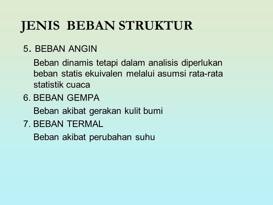 JENIS BEBAN STRUKTUR 5.