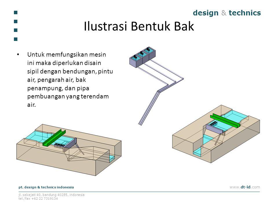 design & technics pt. design & technics indonesia www.dt-id.com jl. sekejati 40, bandung 40285, indonesia tel./fax +62 22 7319134 Ilustrasi Bentuk Bak