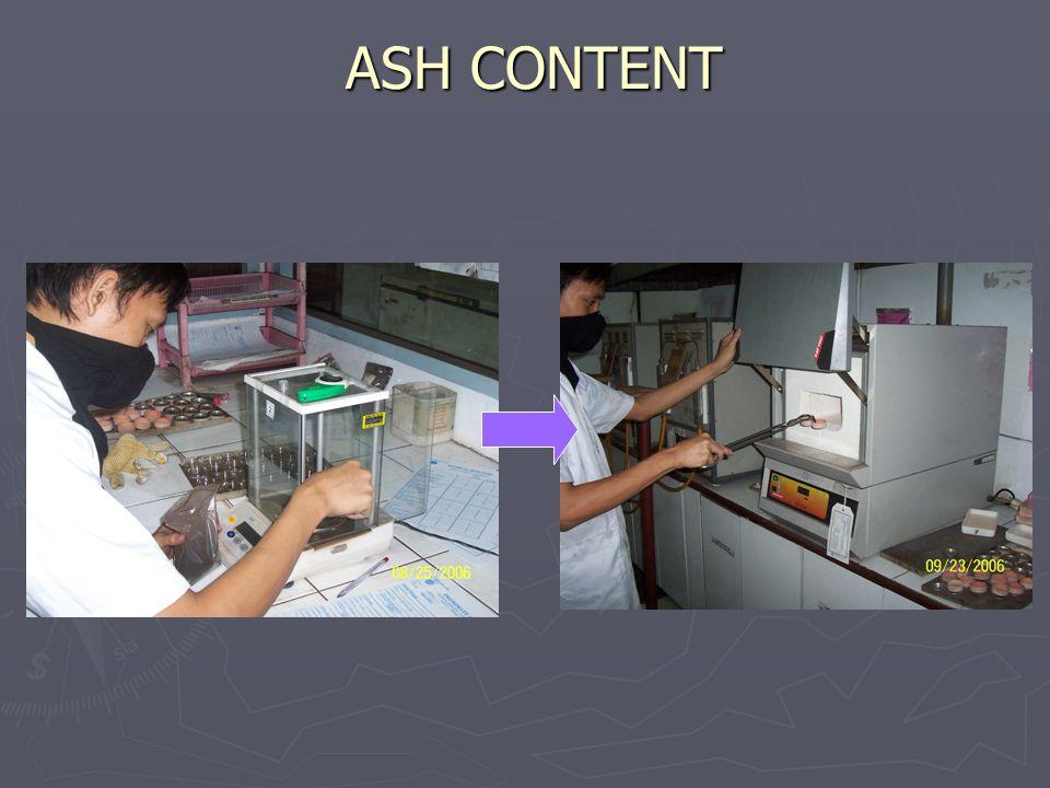 ASH CONTENT