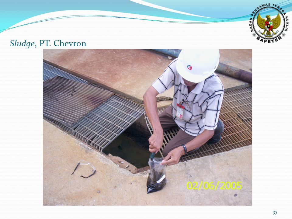 35 Sludge, PT. Chevron