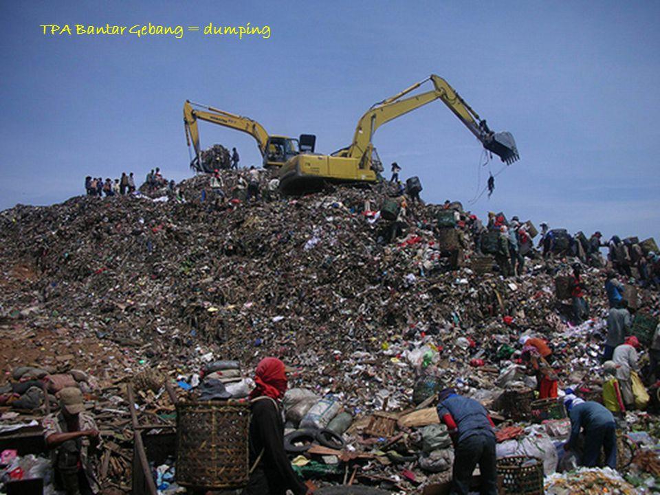 http://herwanparwiyanto.staff.uns.ac.id TPA Bantar Gebang = dumping