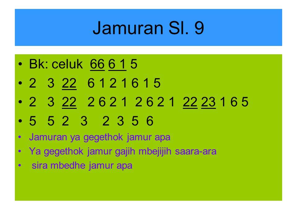 Jamuran Sl.