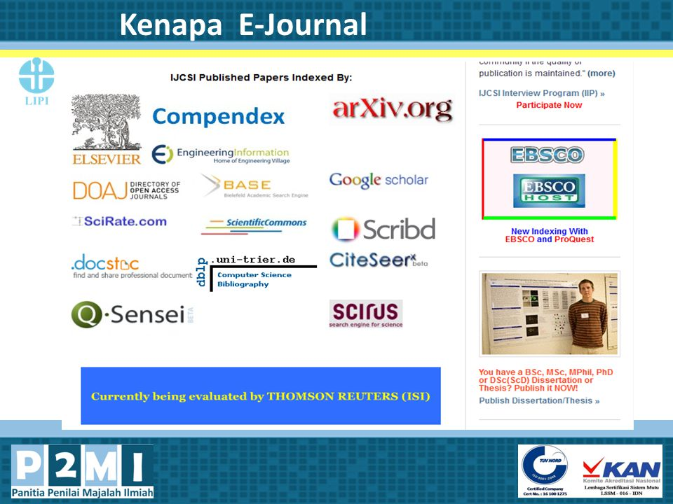 Kenapa E-Journal