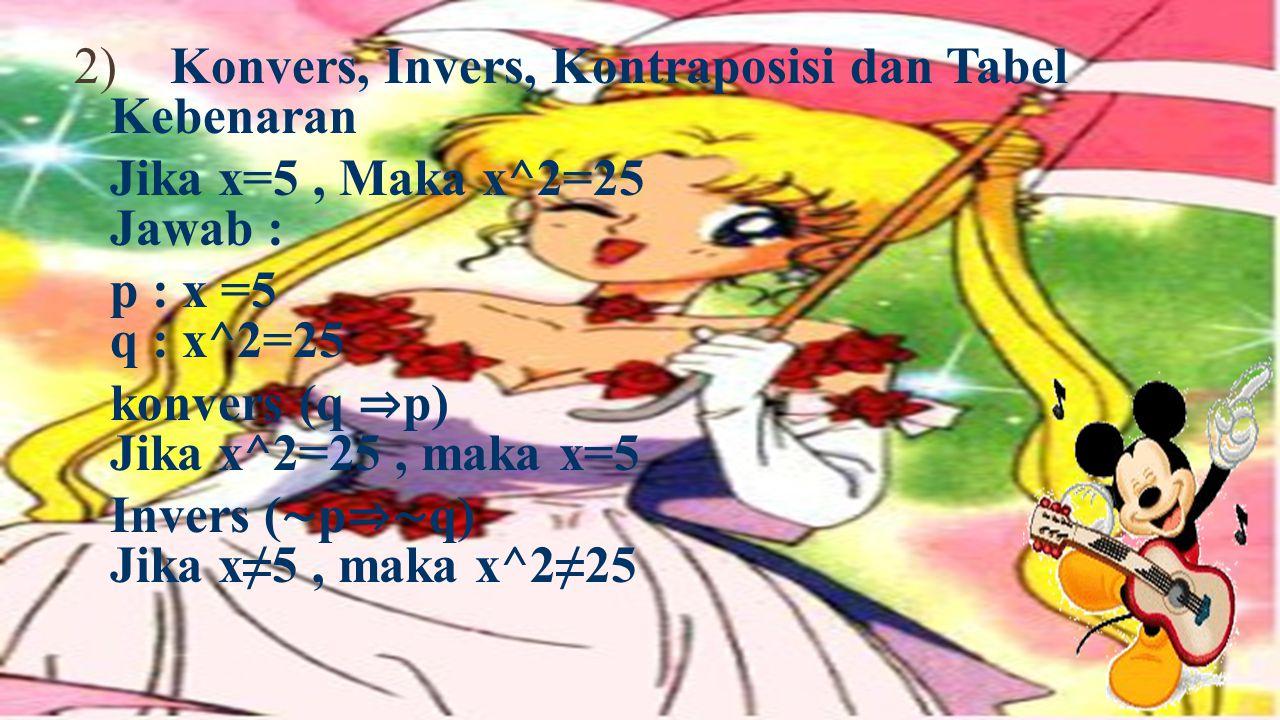 (p ⇒ r) ⇒ {(p ∧ q) ⇒ r} ∧ {p ⇒ (q ∧ r)} ⇒ (p ⇒ q) JAWAB: p q r (p ⇒ r) ⇒ { (p ∧ q) ⇒ r } ∧ { p ⇒ (q ∧ r)} ⇒ (p ⇒ q) B B B B B B B B B B B B B B S S B