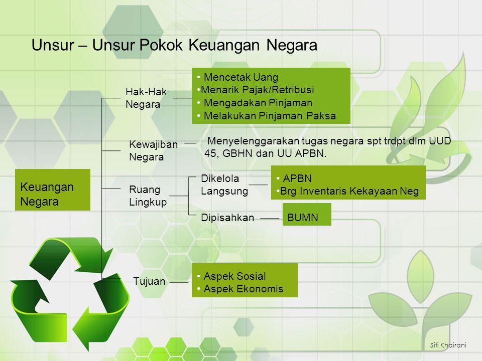 APBN Siti Khairani Anggaran dalam arti luas meliputi suatu daur anggaran Anggaran dalam arti sempit yaitu rencana pengeluaran dan penerimaan dalam satu tahun.