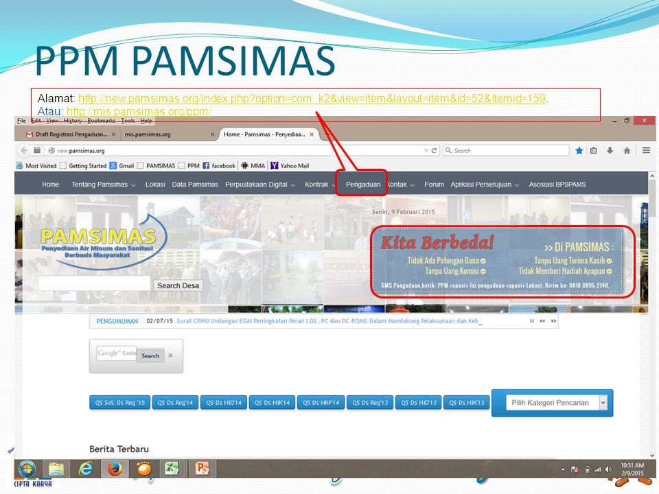 PENGADUAN KELUAR Menu ini merupakan pengaduan yang telah diregistasi atau dicatatkan oleh user.