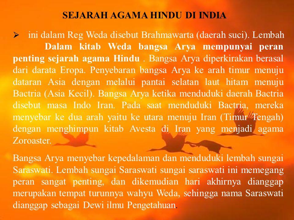 Agama Hindu di Jawa Tengah Perkembangan agama Hindu selanjutnya ternyata bergeser ke arah timur yaitu Jawa Tengah.