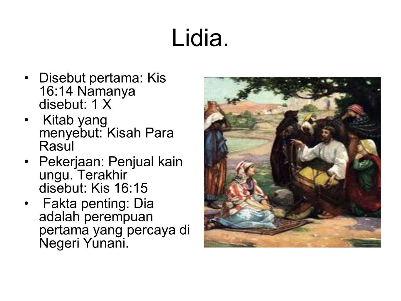 Lidia.