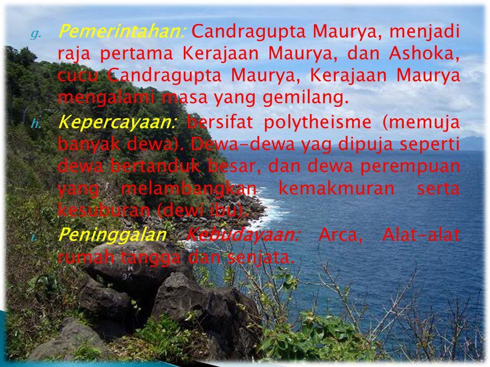  Pusat Peradaban: terletak di antara Pegunungan Himalaya dan Pegunungan Windya-Kedna.