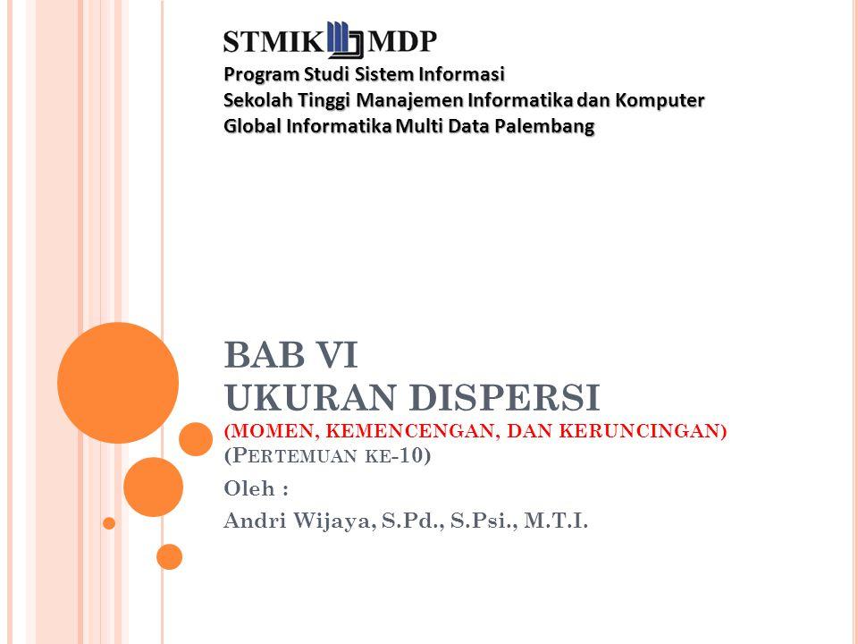 UKURAN DISPERSI 2